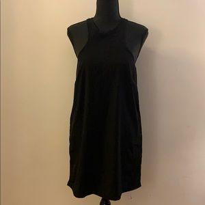 Mini Razorback Slip Dress